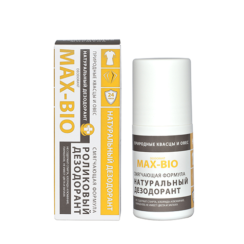 Кристаллический дезодорант max-bio смягчающая формула max-f