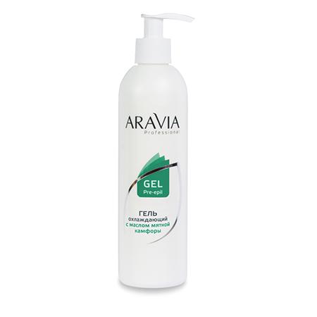 Гель охлаждающий с маслом мятной камфоры aravia professional
