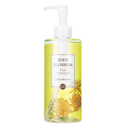 Гидрофильное масло освежающее seed blossom fresh cleansing oil holika holika (Holika Holika)