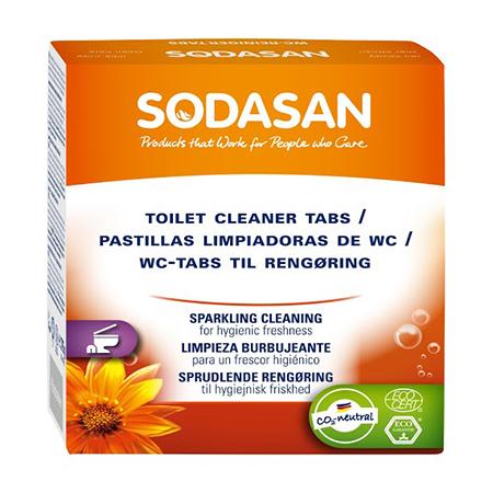 Таблетки для чистки туалета sodasan