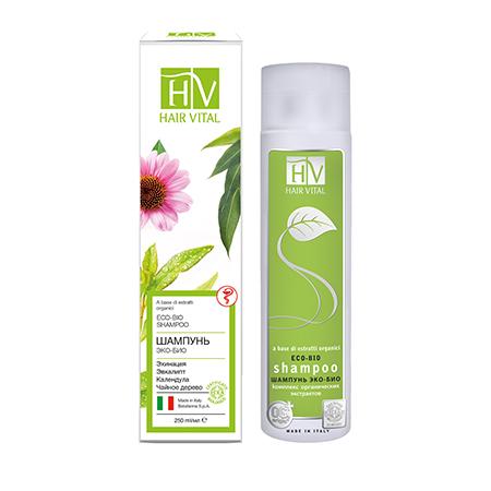 Эко-био шампунь hair vital