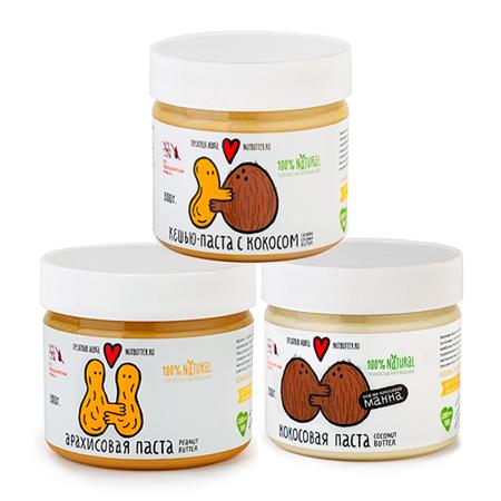 Подарочный набор ореховых паст nutbutter (Nutbutter)