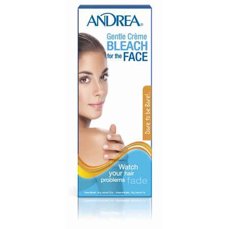 Обесцвечивающий крем для волос на лице andrea