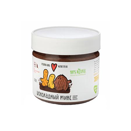 Шоколадный микс из жаренного кешью, кокоса и арахиса nutbutter (Nutbutter)
