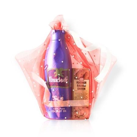 Подарочный набор (кокосовое масло 175 мл + миндальное масло 25 мл) marico limited