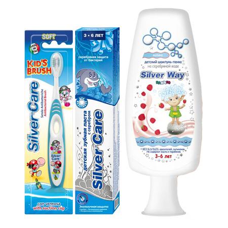 Подарочный набор для мальчиков kids 3-6 silver care (Silver Care)