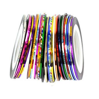 Самоклеющиеся ленты для дизайна ногтей (Деошоп)