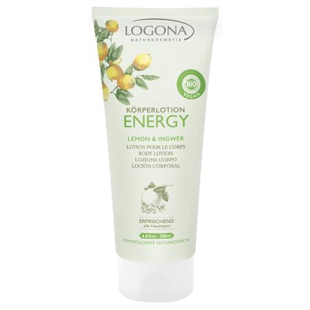 Лосьон для тела с лимоном и имбирем energy logona (Logona)