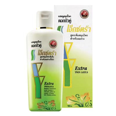 Шампунь от потери волос extra shampoo 100 мл twin lotus (Twin Lotus)