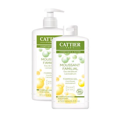 Гель для душа нежная пена cattier (Cattier)