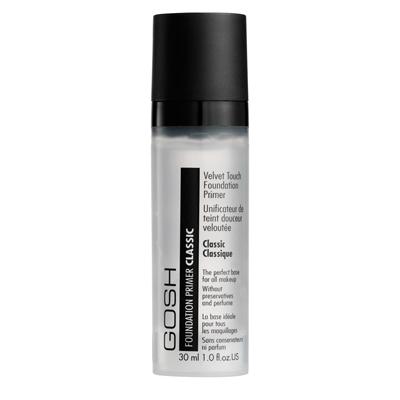 Интенсивная выравнивающая  основа для макияжа velvet touch fondation primer gosh (GOSH)
