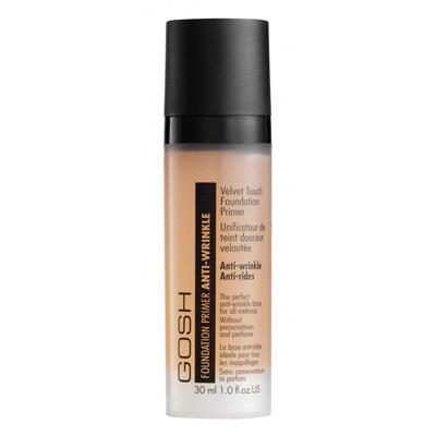 Интенсивная основа для макияжа velvet touch apricot primer с антивозростным эффектом gosh (GOSH)