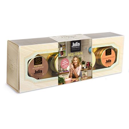 Подарочный набор медовое путешествие с юлей высоцкой peroni honey