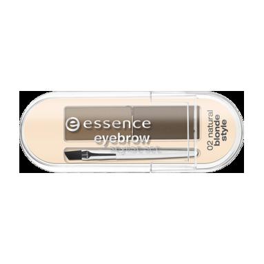 Набор для бровей (тон 02) blonde style essence (Essence)