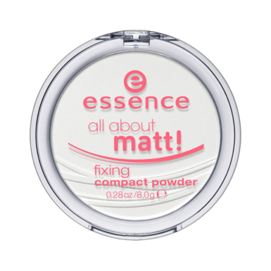 Матирующая компактная пудра all about matt! essence (Essence)