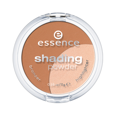Пудра компактна (тон 01) light shading powder 2 в 1 essence