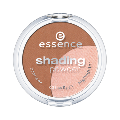Пудра компактна (тон 02) medium shading powder 2 в 1 essence (Essence)