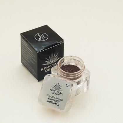 Тени для бровей горький шоколад кристалл декор (Кристалл Декор)