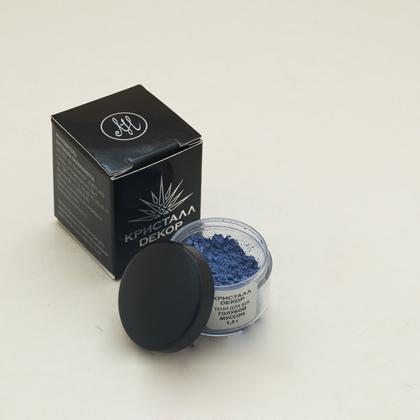 Тени для век голубой муссон кристалл декор
