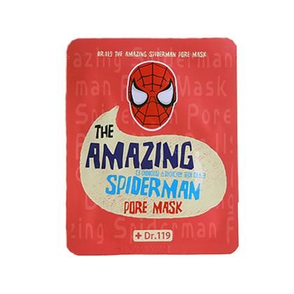 Маска для ухода за порами лица  dr.119  the amazing spiderman pore mask baviphat (Baviphat)