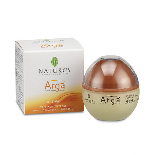 Arga крем для лица антистресс  active antistress cream natures (Natures)