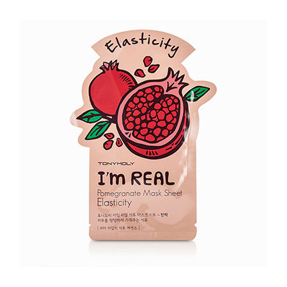 Тканевая маска для лица гранат im real pomegranate mask sheet tony moly