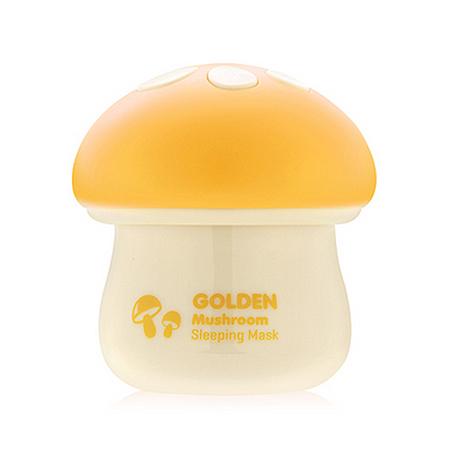 Маска для упругости и эластичности кожи magic food golden mushroom sleeping mask tony moly (Tony Moly)