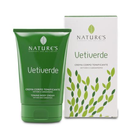 Vetiverde крем для тела natures (Natures)