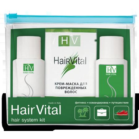 Дорожный набор для укрепления и роста волос hair vital (Hair Vital)