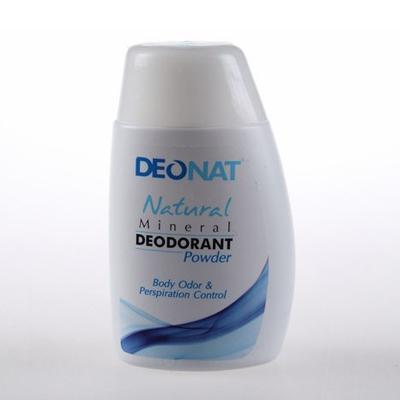 Минеральный дезодорант порошок для тела deonat