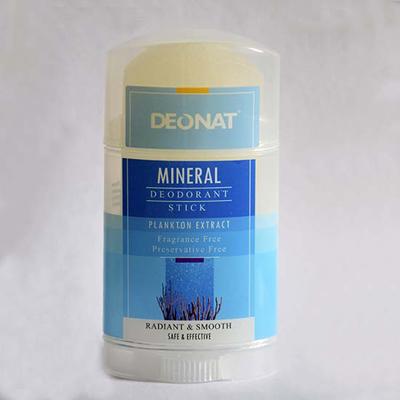 Минеральный дезодорант кристалл с экстрактом планктонных микроорганизмов twist-up deonat