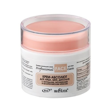 Крем-абсолют для лица, шеи, декольте с пептидами, витаминами и флорентийским ирисом белита - витекс (Белита -Витекс)