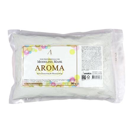 Маска альгинатная антивозрастная питательная (пакет) aroma modeling mask anskin