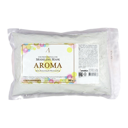 Маска альгинатная антивозрастная питательная (пакет) aroma modeling mask anskin (ANSKIN)