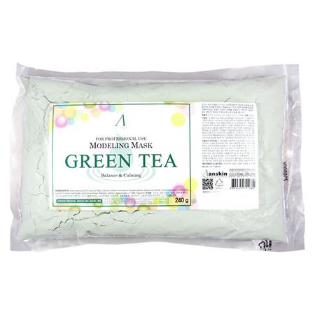 Маска альгинатная с экстрактом зеленого чая (пакет) grean tea modeling anskin (ANSKIN)