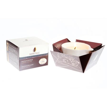 Бальзам для массажа свеча карите  какао karethic (Karethic)