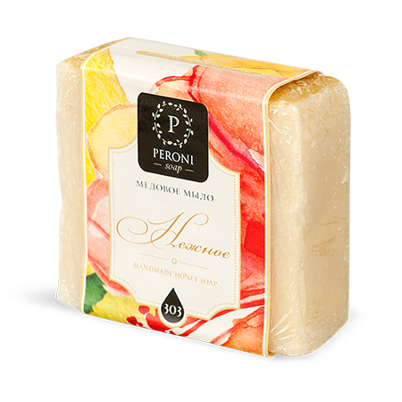 Мыло нежное peroni (Peroni honey)