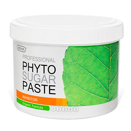 Фитопаста inhibitor для замедления роста волос (плотная) 800 гр аюна