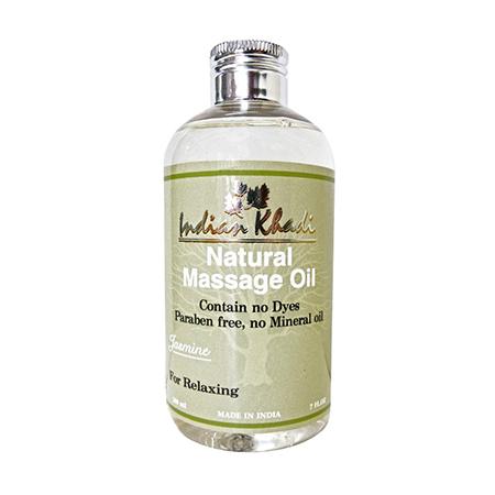 Чувственное массажное масло с жасмином indian khadi