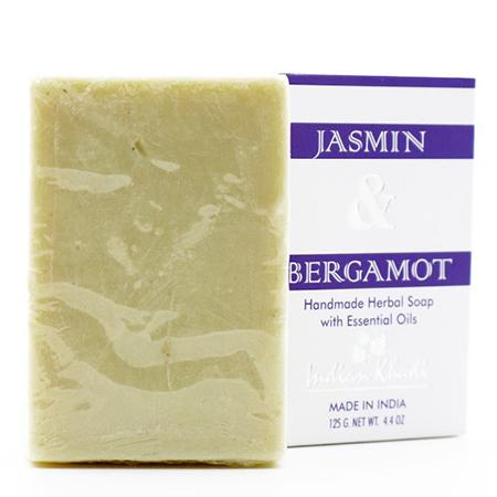Натуральное мыло с жасмином и бергамотом indian khadi (Indian Khadi)