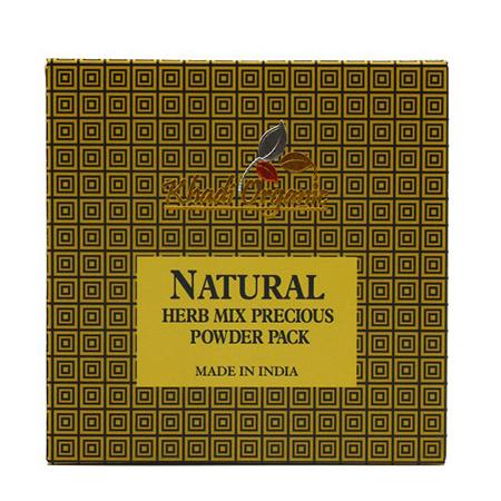 Сухая маска-убтан для волос амла, shikakai, jathopra, reetha organic khadi (Indian Khadi)
