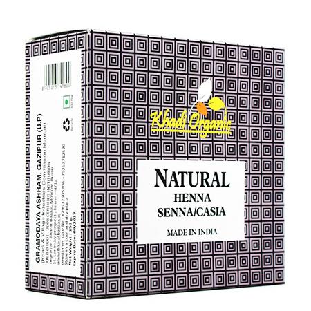 Органическая хна натуральная organic indian khadi