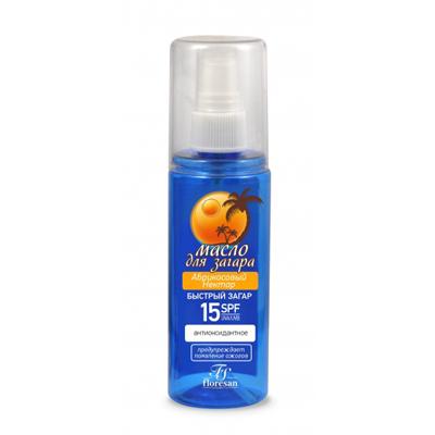 Масло для загара абрикосовый нектар c антиоксидантным действием floresan (Floresan)