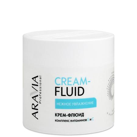 Крем-флюид нежное увлажнение aravia professional