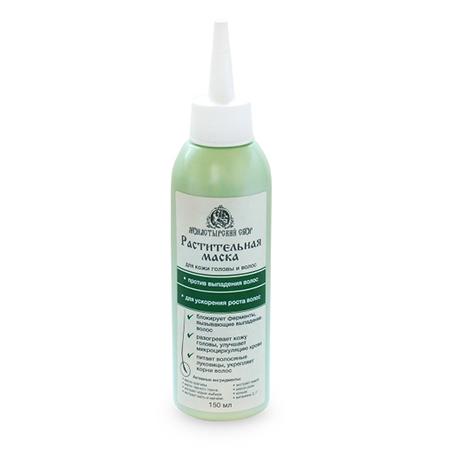 Растительная маска против потери волос и для ускорения роста новых волос клеона (Клеона)