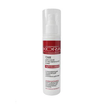 KORA (Кора) Тоник для сухой и чувствительной кожи ультраувлажнение kora