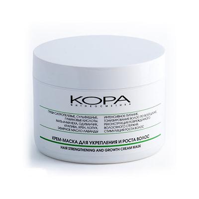 KORA (Кора) Крем-маска для укрепления и роста волос kora