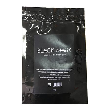 Черная маска от прыщей и черных точек black mask