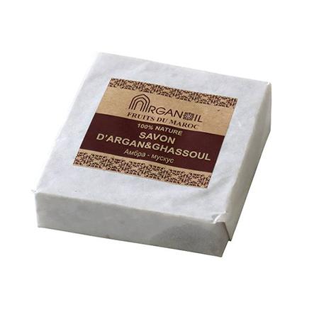 Мыло с глиной гассул амбра-мускус argana (Argana)
