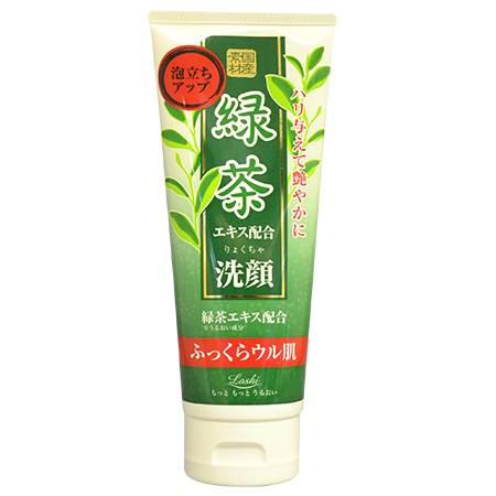 Пенка для умывания с зеленым чаем roland